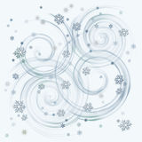 Snow flakes stock photos