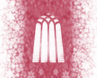 Free Snow Flakes And Church Window Stock Photos - 3404513