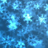 Snow Flakes Background Royalty Free Stock Photos
