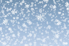 Snow flakes background Stock Images
