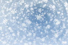 Snow flakes background Royalty Free Stock Images