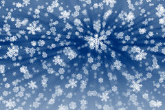 Snow flakes background. High Resolution Rendering. Winter Background Stock Photo