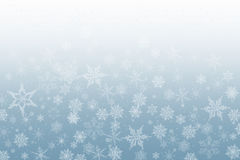 Snow flakes background Stock Photo