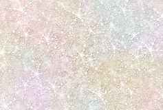 Snow Flakes Background Stock Photography