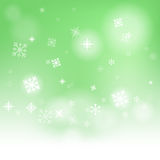Snow Flakes Background Shows Snow Falling Or Royalty Free Stock Photography