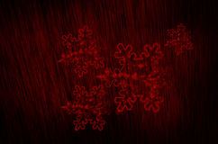 snow flakes blood texture background Stock Photography