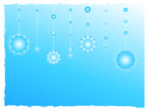Snow flakes decoration Royalty Free Stock Images