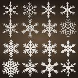 Snow flakes Royalty Free Stock Images