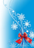 Snow_flowers_background_christmas Photographie stock libre de droits