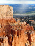 Snow Flurries over Bryce Canyon in Utah Royalty Free Stock Images