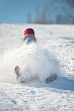 Snow flying Royalty Free Stock Photography