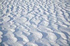 Snow formations Royalty Free Stock Image