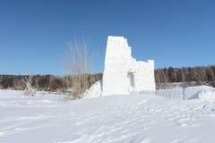 Snow fortress Stock Photos