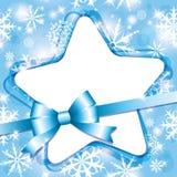 Snow frame Royalty Free Stock Photos