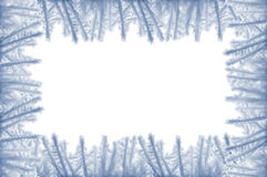 Snow frame Royalty Free Stock Image