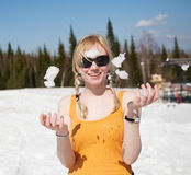 Snow and Fun Stock Photos