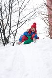Snow fun Royalty Free Stock Images