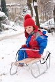 Snow fun Stock Images