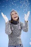 Snow fun Stock Photography