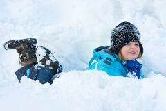 Snow fun Royalty Free Stock Photos