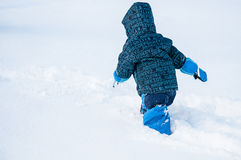 Snow fun Royalty Free Stock Photo