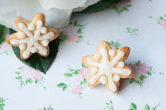 Snow gingerbread Royalty Free Stock Images