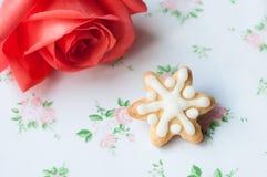 Snow gingerbread Stock Photos