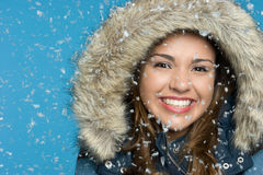 Snow Girl Stock Photos