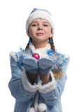 Snow girl Stock Images