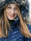 Snow girl Stock Photo