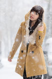 Snow girl Royalty Free Stock Images