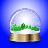 Snow globe Royalty Free Stock Photo