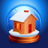 Snow globe. Stock Photography