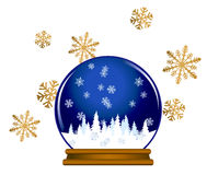 Snow Globe Stock Image