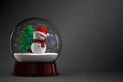 Snow globe stock illustration