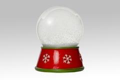 Snow globe, isolated on white background Stock Photography