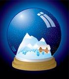 Snow globe modern Stock Image