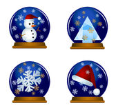Snow Globes Royalty Free Stock Photo