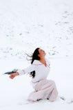 Snow Goddess Stock Photos