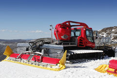 Snow Grader Royalty Free Stock Photos