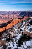 Snow in Grand Canyon Stock Photos