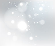 Snow gray background Royalty Free Stock Photos