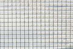 Snow grid Stock Image