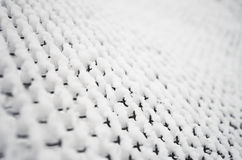 Snow grid background Royalty Free Stock Image