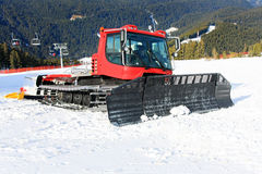 Snow groomer 2 Royalty Free Stock Photo