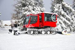 Snow Groomer Royalty Free Stock Photo