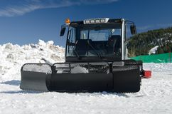 A snow groomer Royalty Free Stock Photo