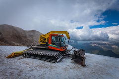 Snow groomer with standard equipment. Stock Photography