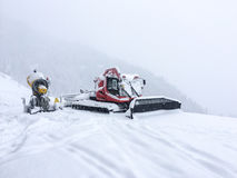 Snow grooming equipment Royalty Free Stock Photo