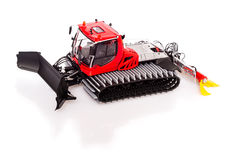 Snow-grooming machine or snowcat Stock Photography